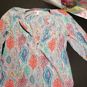Elsa blouse lilly Pulitzer